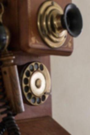 Telefono dei primi del 900