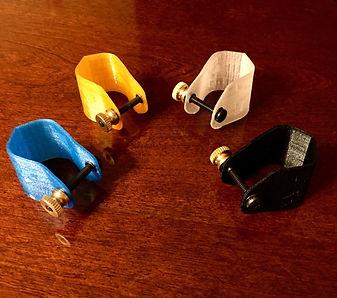 3D Printed Clarinet Ligatures