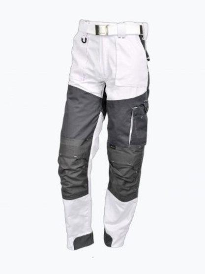 Wolf line pantalon Corda stretch blanc
