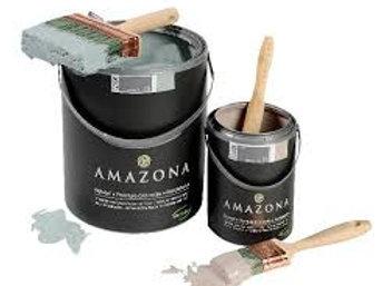Amazona, Peinture à la craie