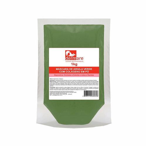 Argila Verde com Colágeno em Pó