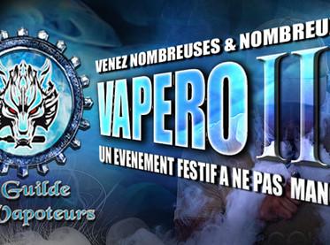 INFO : 3eme Vapéro de la Guilde Des Vapoteurs