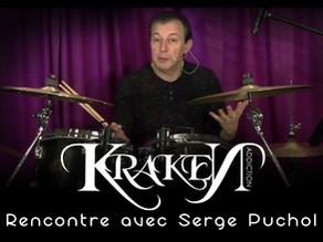 Rencontre avec : Serge Puchol professeur de batterie et partenaire de Kraken Addiction