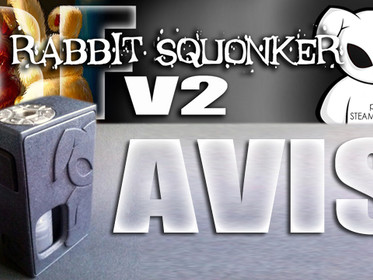 AVIS SUR : BOX BF RABBIT SQUONKER V2 - STEAM RABBIT