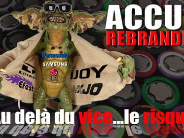 """ACCUS REBRANDES """"Au delà du vice...le risque"""""""