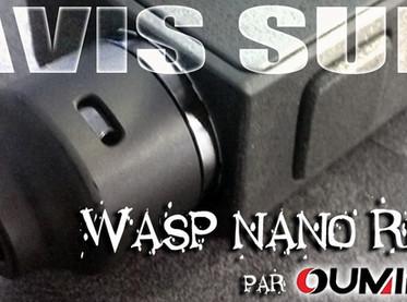 Avis sur : Dripper BF - WASP NANO (par Oumier)