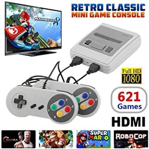 Super Mini Retro Console 621 Games