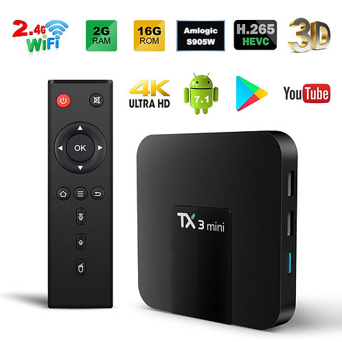 Android 4k HDMI TV BOX Tx 3 Mini A