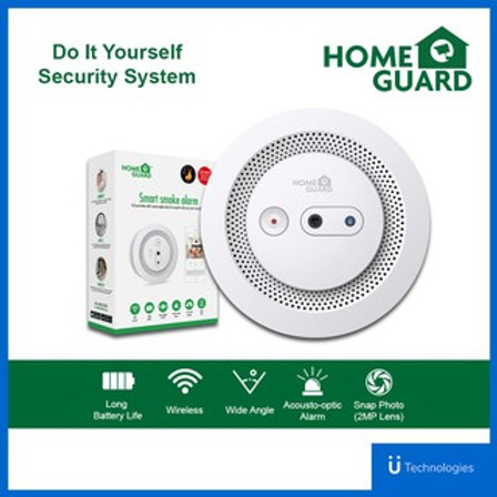 Homeguard Smart Smoke Alarm with Camera