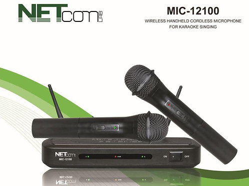 wireless dual microfone kit