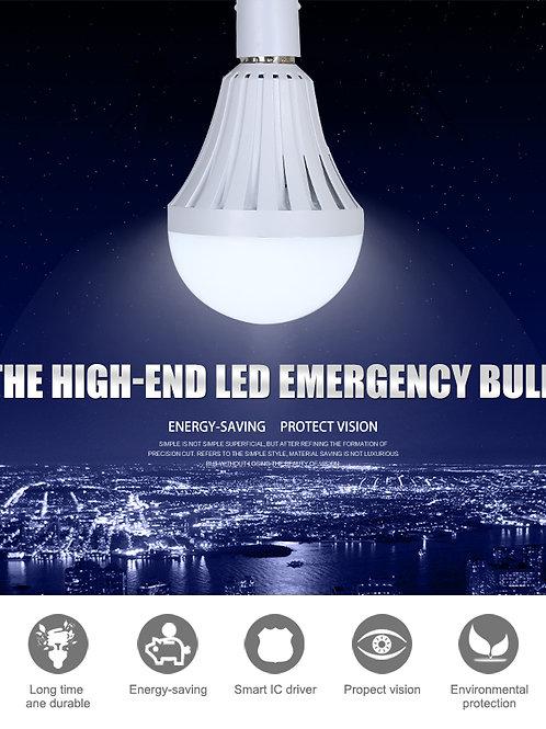 Battery backup emergency bulb 12w led ceiling light