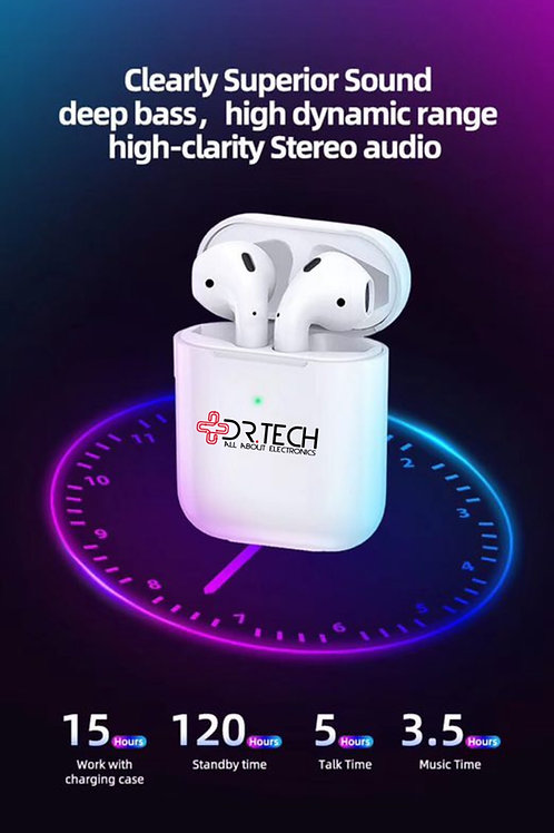 Dr.Tech Earpods Bluetooth Wireless