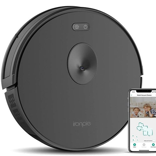 Trifo Ironpie m6 Robot Vacuum Cleaner with Visual Navigation Camera