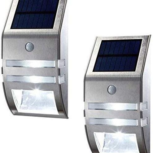 Outdoor solar LED Wall light