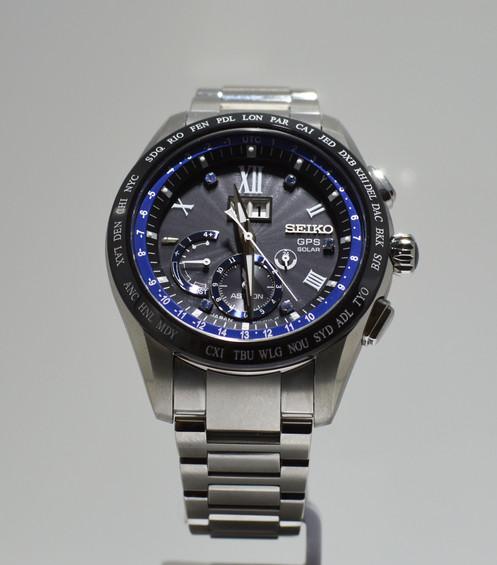 Seiko Astron SSE145J1 Solar GPS Big Date Watch