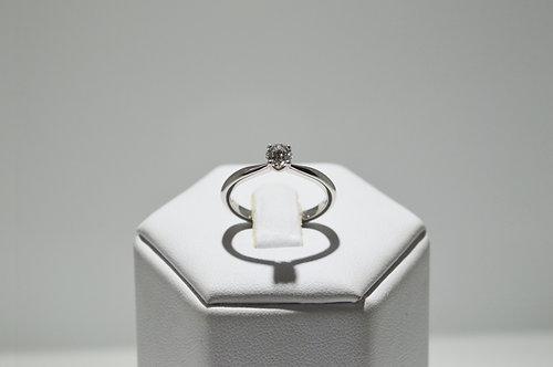 GIA Platinum Solitaire Diamond Ring