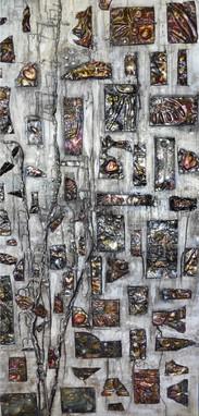 Mémoires fragmentées  48x24 #60
