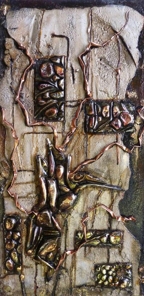 Surface rupestre  24x12  #58  Vendu