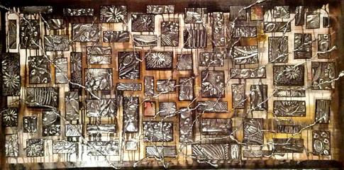 Fragments de vie 4  30x60  #108