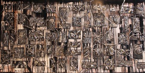 Fragments de vie 1  30x60  #105