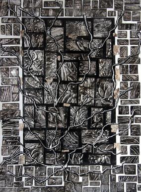 Empreintes silencieuses I. 48x36  #103