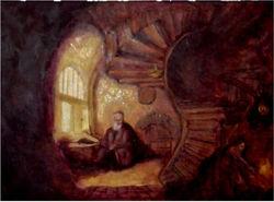 Philosopher Meditating