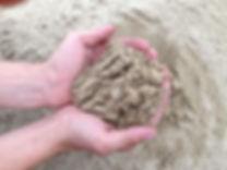 песок среднезернистый
