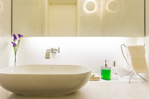 Detalhe novo lavabo | PAGAMA arquitetura + design