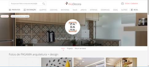 Portal Viva Decora | PAGAMA arquitetura + design
