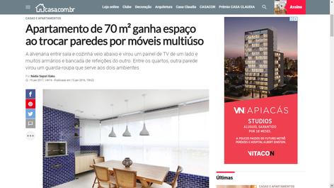 Apartamento Itararé | casa.com.br