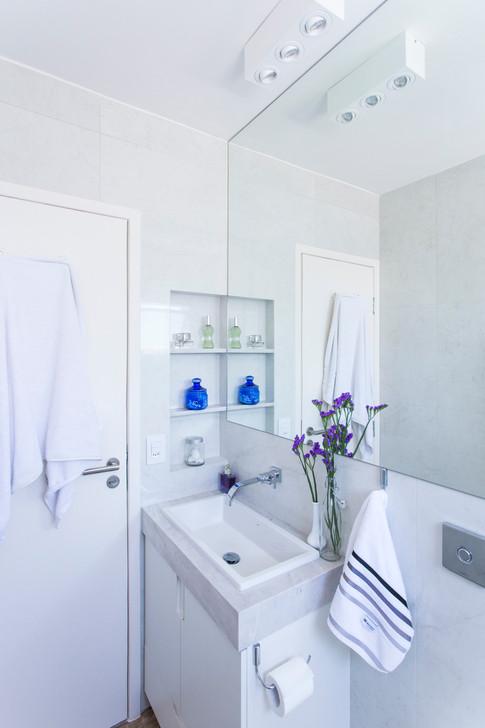 Reforma banho suíte | PAGAMA arquitetura + design