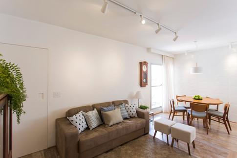 Reforma de sala e cozinha integrados | PAGAMA arquitetura + design
