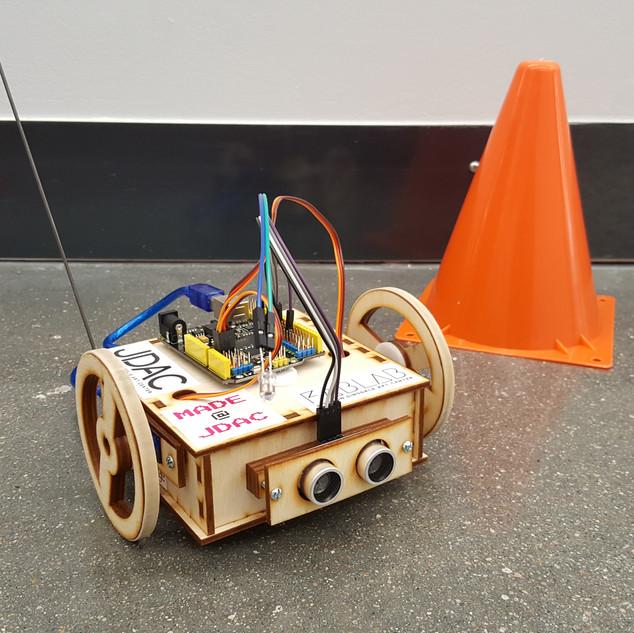 Obstacle-Avoiding Bot