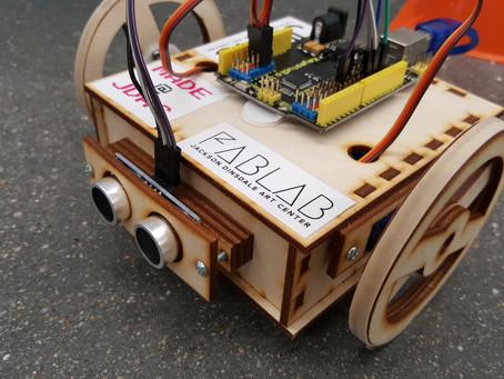Obstacle-Avoiding Arduino Robot