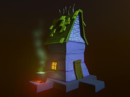 Spooky Cottage: Maya -> Unity