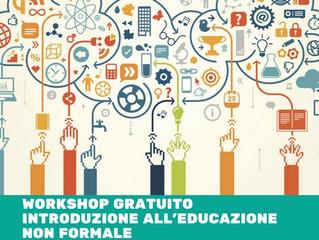 WORKSHOP GRATUITO PER DOCENTI Introduzione all'educazione non formale