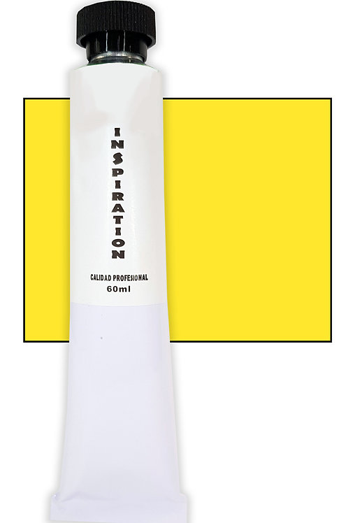 Óleo Inspiration amarillo permanente claro (60ml)