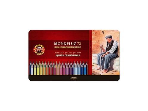 Set 72 Lápices Acuarelables Mondeluz Koh-i-Noor