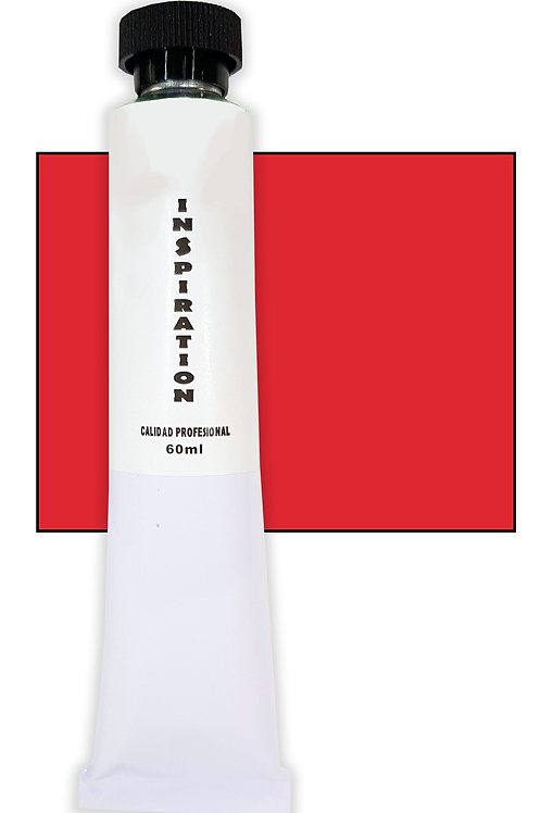 Óleo Inspiration rojo de cadmio intenso (60ml)