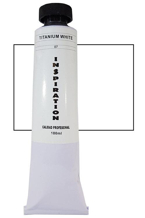 Óleo Inspiration Blanco titanio (180ml)