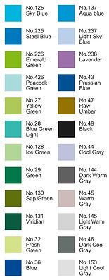 Rotulador Koi Selección de colores 2