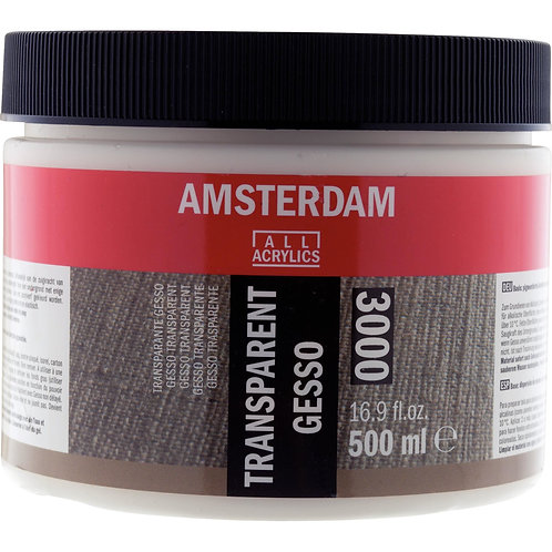 Gesso Transparente Amsterdam 500ml