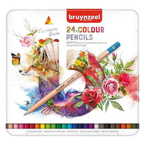 Caja 24 Lápices Color Expression Bruynzeel