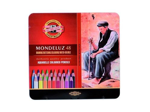 Set 48 Lápices Acuarelables Mondeluz Koh-i-Noor