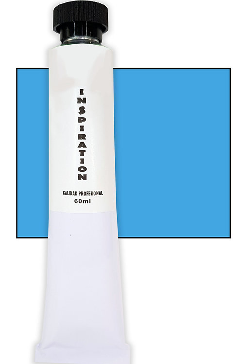 Óleo Inspiration azul primario (cyan) (60ml)