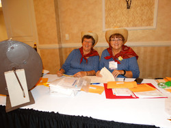 Mary Lou and Gayle, Raffle