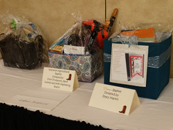 Raffle Baskets from Districts