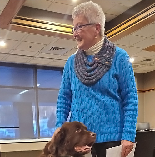 Aspirus Wausau Canine Therapy Eileen&Mag