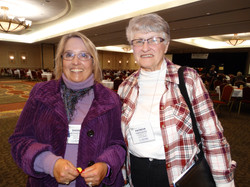Pat Freeders and Sheree Schaefer