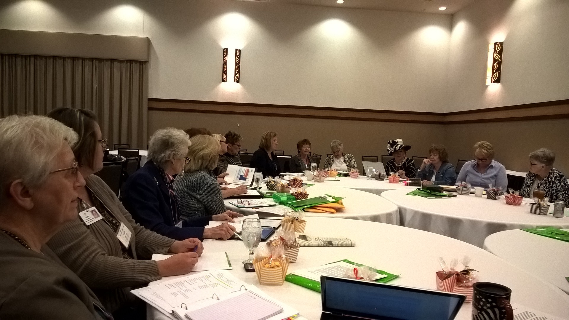 Board Meeting before Convention